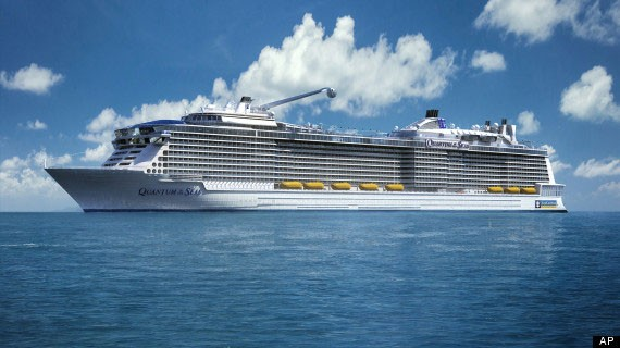Quantum of the Seas to call at the Port of  St. Maarten for the 2014-2015 season.