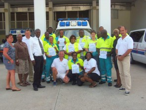 Ambulance Department participates in disaster management training course.
