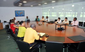 SXM Airport Updates Government Reps on Ebola Preparedness Plan.