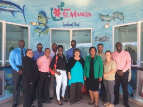 Port St. Maarten Meets with Ministry of Public Health with respect to Ebola.