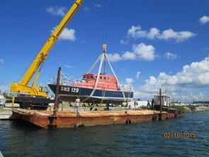 Port St. Maarten contributes logistically towards the transportation of French Sea Rescue Boat SNS129 to France for Repairs