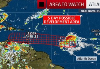 Atlantic Tropical Disturbance, Invest 97L, May Become