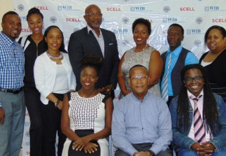 SCELL celebrates the first journalism class graduates.