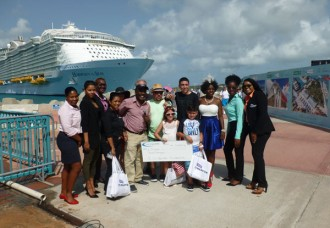 Miami Family Barril becomes One Millionth Cruise Passenger for 2017 .