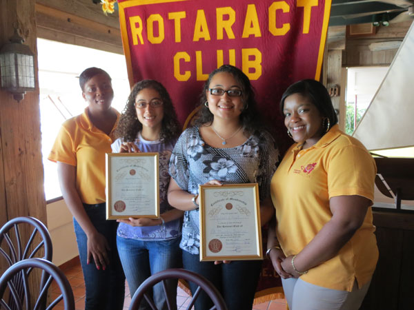 rotaractsunriseinducts2newmembers25112012