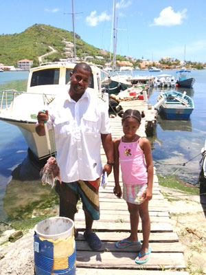 Fishermen Continue to Assist Nature Foundation in Combating Lionfish.